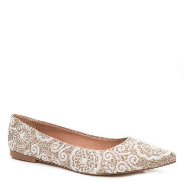 027da0126ee corello · Sapatos Femininos · Sapatilha. Previous. 0004063012 235 1- SAPATILHA-BORDADA ...
