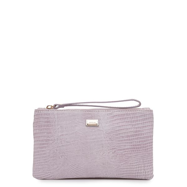 8d112bafe Bolsa Feminina Mini Bag Couro - Lezard Lila - corello