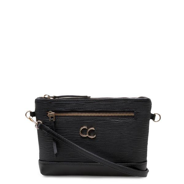 4a11ed0c3 Bolsa Feminina Mini Bag - Couro Raiz Preto - corello