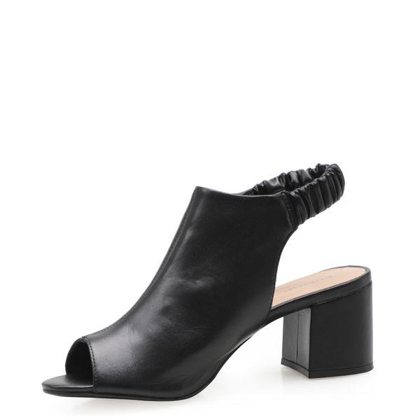efecfd0560 Sandália Feminina Sandal Boot - Couro Atanado Preto - corello
