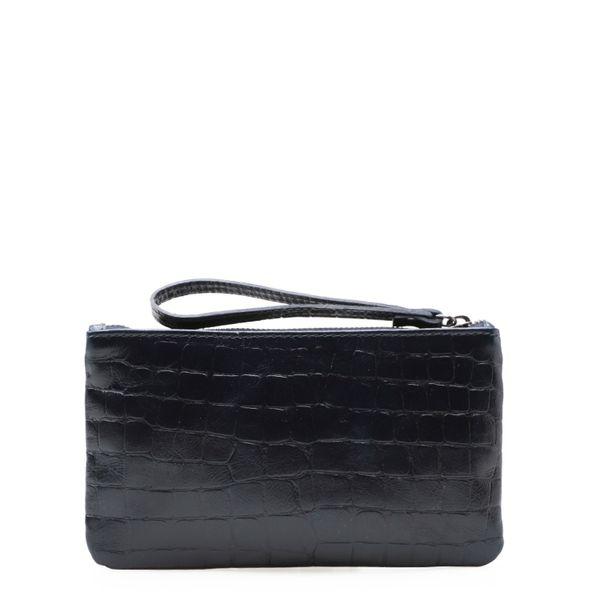 7665692d5 Bolsa Feminina Mini Bag - Couro Croco Marinho - corello
