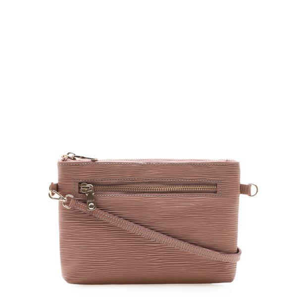 d97f1c288 Bolsa Feminina Mini Bag - Couro Raiz Rose - corello